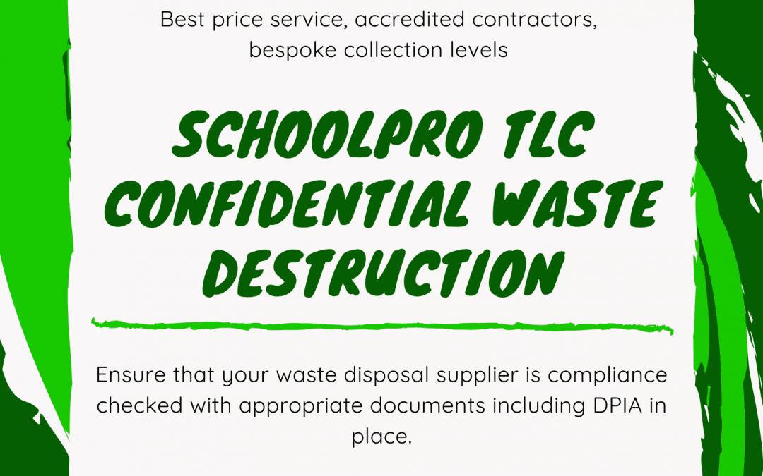 SchoolPro Confidential Waste Disposal Service